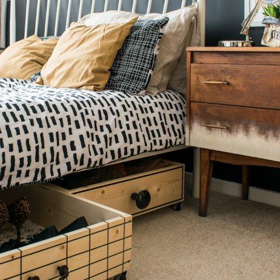 ... DIY UNDER BED STORAGE BOXES & diy under bed storage boxes | craftgawker