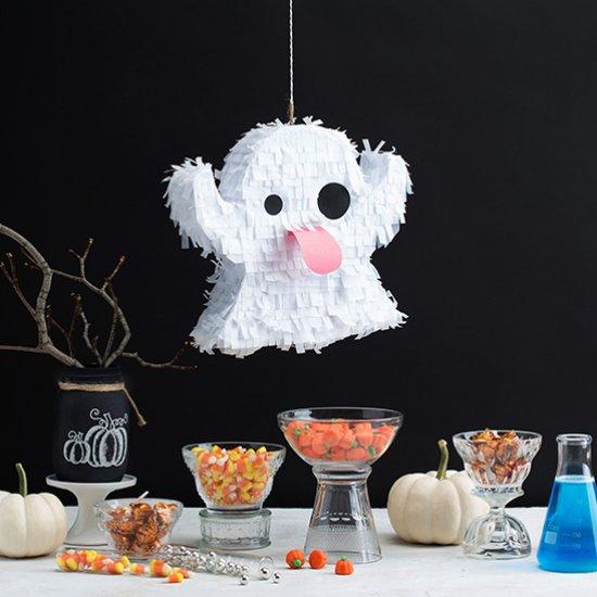 Halloween Emoji Ghost Piñata