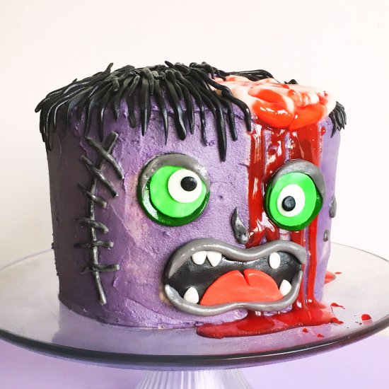 how to make monster cake craftgawker