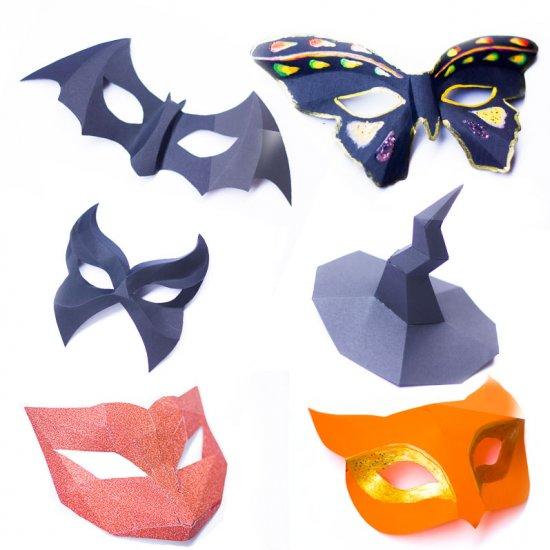 easy paper mask | craftgawker