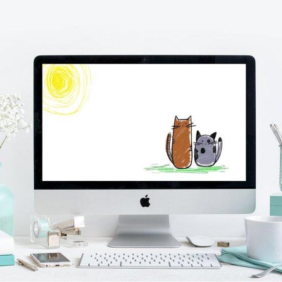 Cute Cat Wallpaper Craftgawker