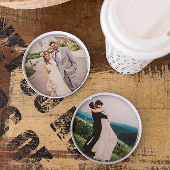 DIY – Photo Mason Jar Lid Coaster
