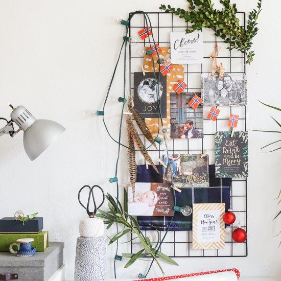 DIY Holiday Card Moodboard