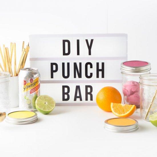 DIY Sherbet Punch Bar + Video!