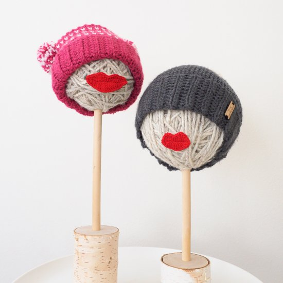 Yarn Head Hat Stand