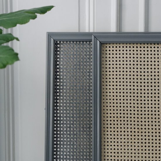 DIY Rattan Heater Covers