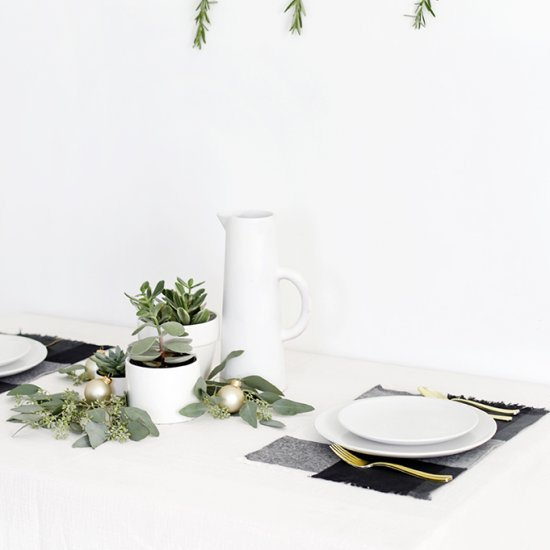 Flannel Placemats