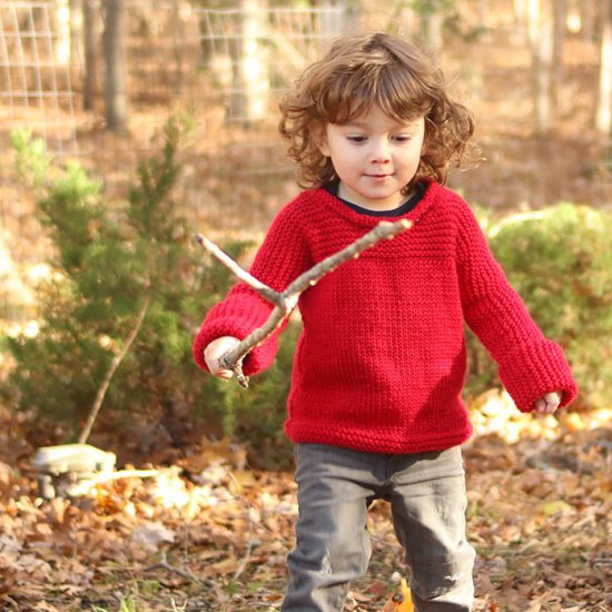 Toddler Sweater Knitting Pattern