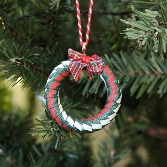 Mini wreath decoration