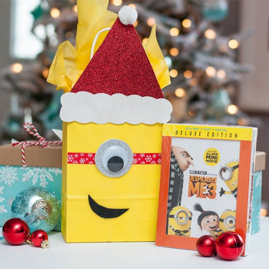 Minion Gift Wrap & minions gallery | craftgawker