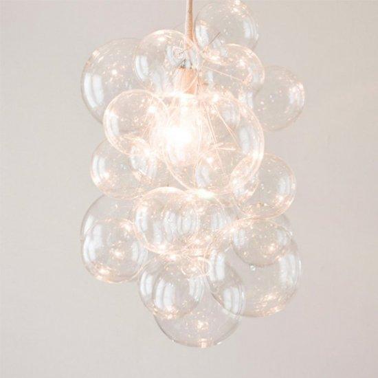 Diy bubble chandelier craftgawker diy bubble chandelier aloadofball Images