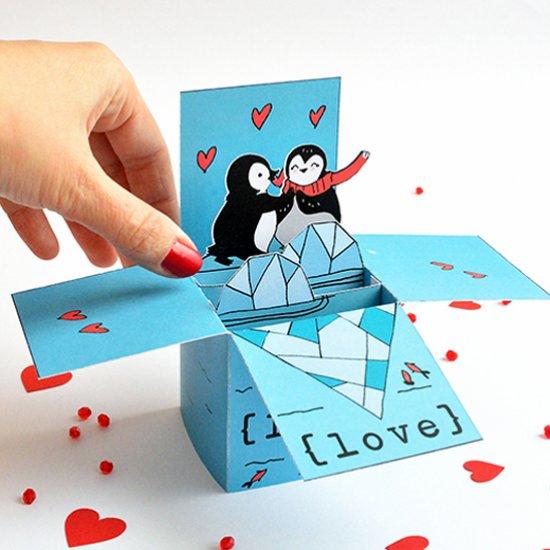 Diy Valentine S Pop Up Card Craftgawker
