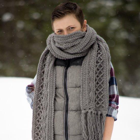 Crochet Scarf Pattern For Men Gallery Craftgawker