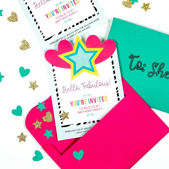 Birthday Invite Gallery