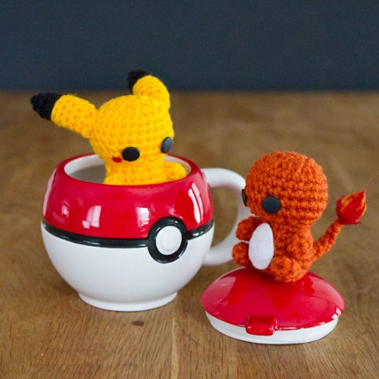 Amigurumi Charmander Crochet Diy - YouTube | 550x550