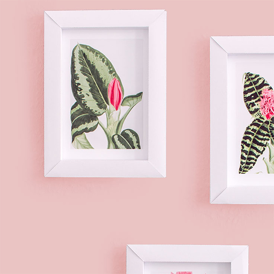 super easy photo frames from paper | craftgawker