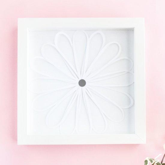 easy diy paper flower wall art | craftgawker