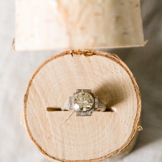 Diy Birch Log Ring Box 110317 Ruffledblog Easy