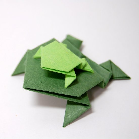 How To Fold An Origami Jumping Frog Craftgawker