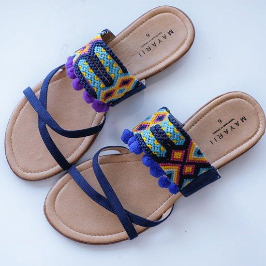 871d04be95e04f DIY Pom Pom Sandals