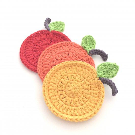 Crochet Cat Butt Coasters | 550x550