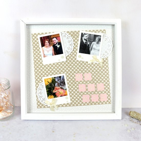 Craftgawker look to inspire diy wedding memories frame solutioingenieria Images
