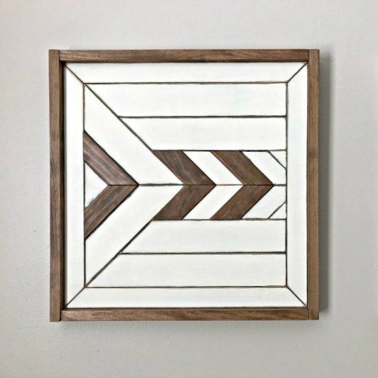 custom scrap wood wall art | craftgawker