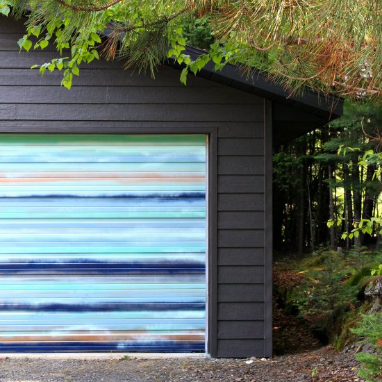 Diy Garage Door Mural Craftgawker