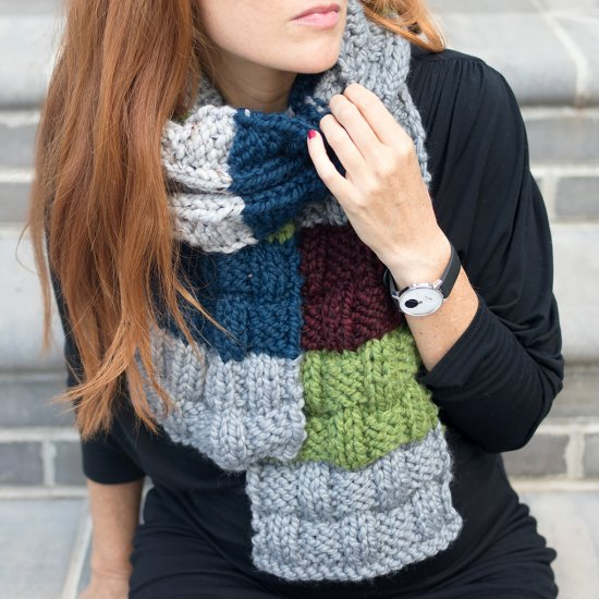 Basket Weave Scarf Knitting Pattern Craftgawker