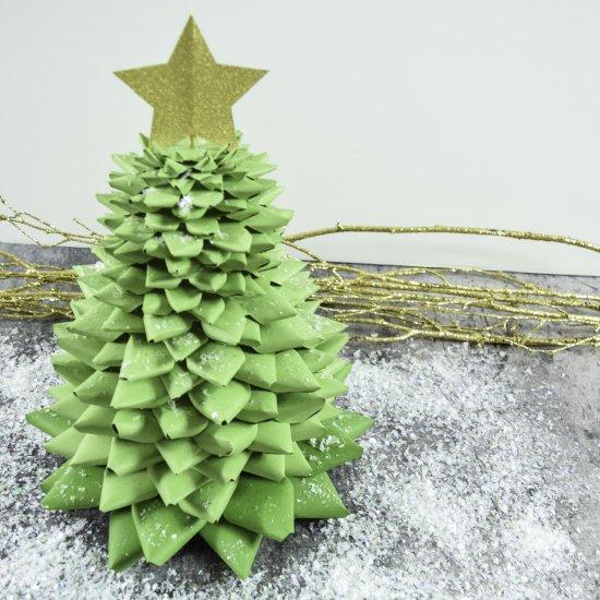 3d Paper Christmas Tree.3d Paper Christmas Tree Craft Craftgawker