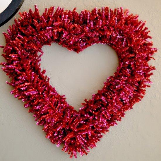Diy Valentine S Day Wreath Craftgawker