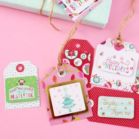 Scrapbook Mix & Match Gift Tags