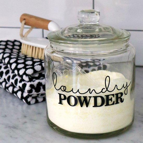 Homemade Laundry Soap Powder